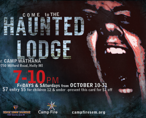 Haunted Lodge October 2014
