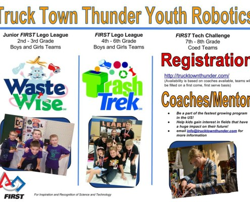 T3 Youth Program Flyer